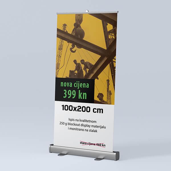 Roll-up 100x200cm