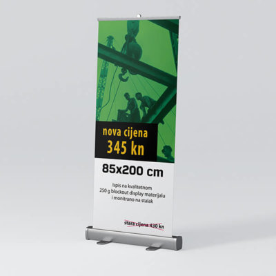 Roll-up 85x200cm