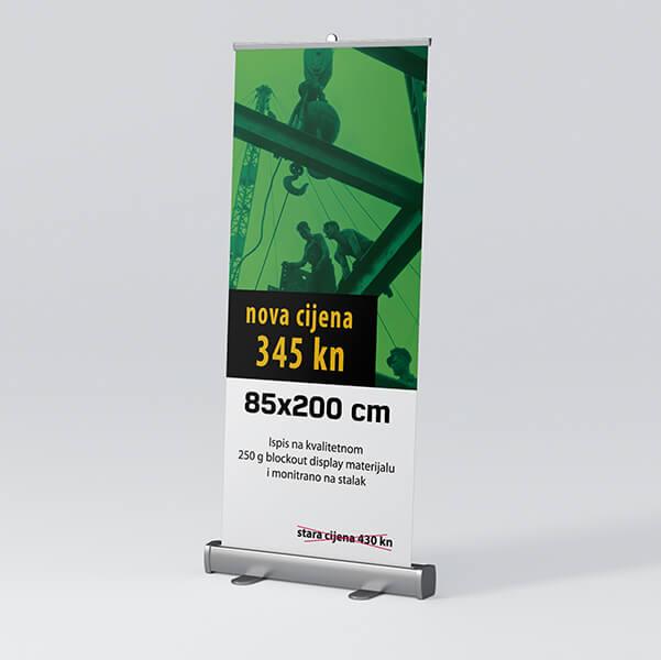 Roll-up 85x200cm 3